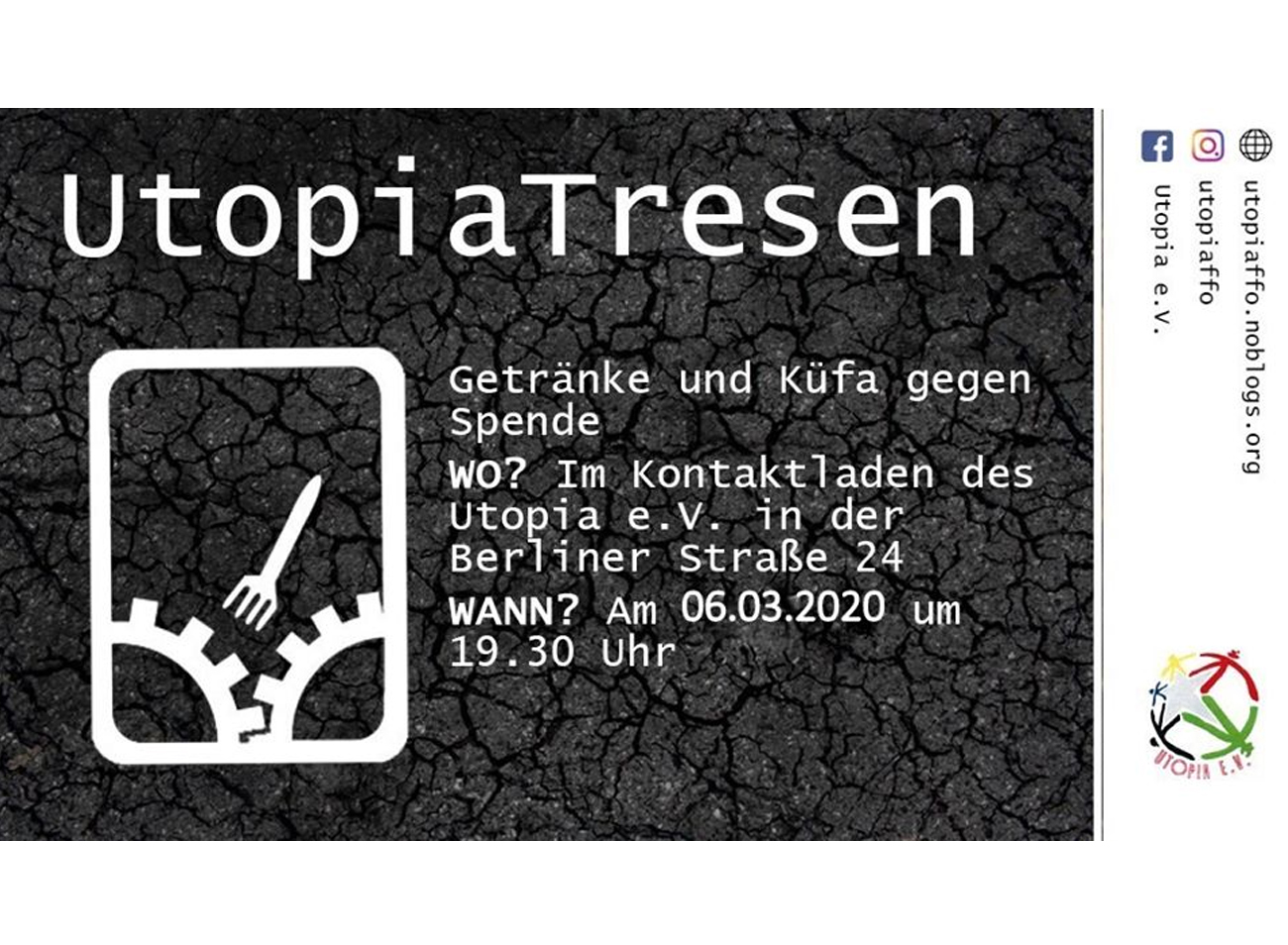 6.03.20 – Utopia-Tresen