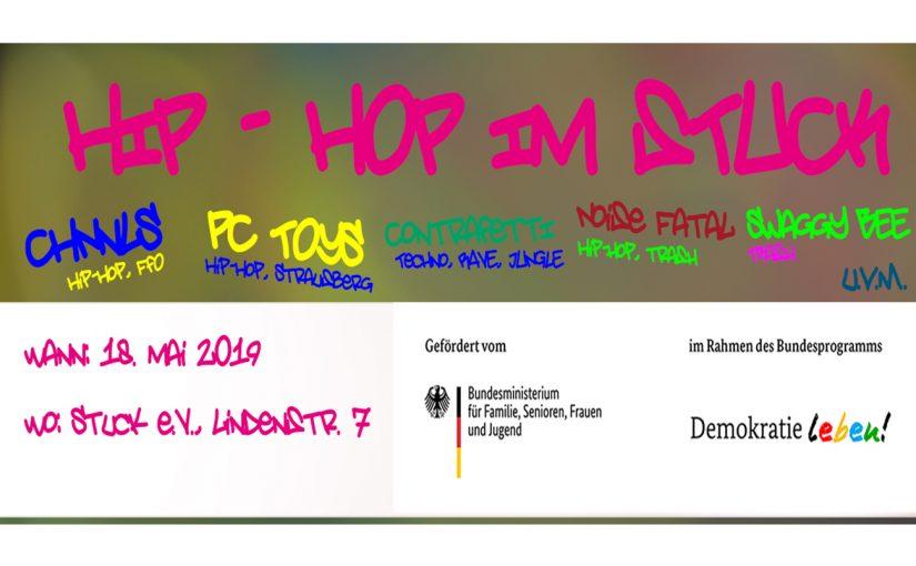 18.05.2019 -Party für eine solidarische und diskriminierungsfreie Kulturlandschaft in Frankfurt (Oder)